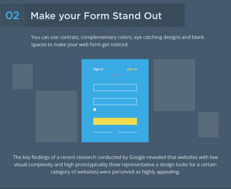 design formulaires web générer des prospects